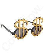 Dollar Sign Bling Sunglasses