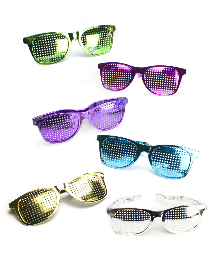 Jumbo Mesh Shades - Assorted 12ct