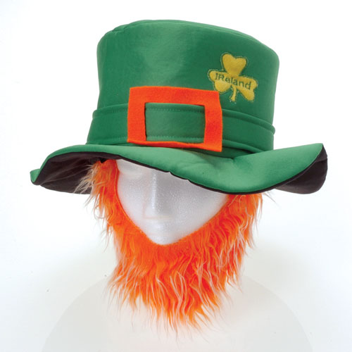 St Pats Hat with Beard