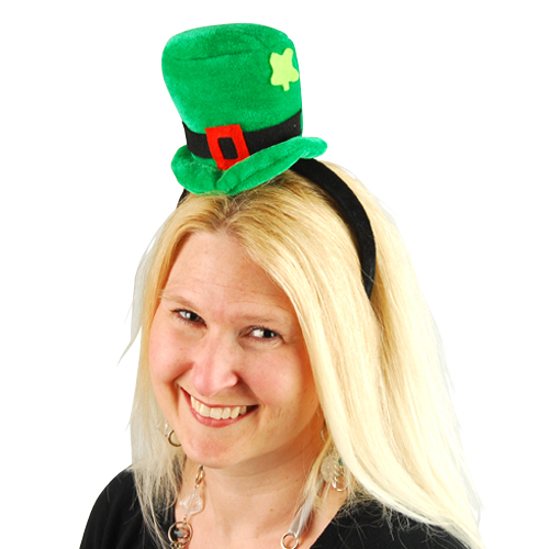 St Pat Headband Hat
