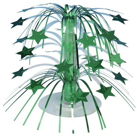 Green Stars Mini Cascade Centerpiece