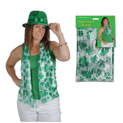 Shamrock Scarf 10in x 4ft 7in