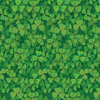 Clover Field Backdrop 4' x 30'