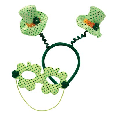 Leprechaun Hat Boppers wMask