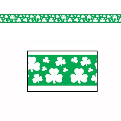 Shamrock Party Tape 3in x 20ft