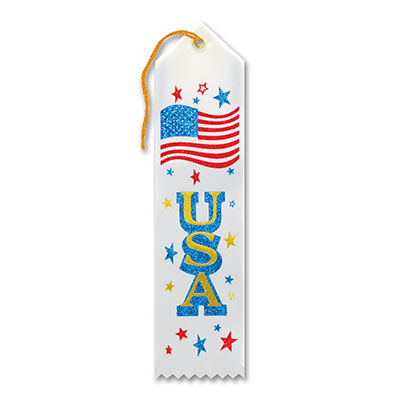 USA Award Ribbon 2 x 8