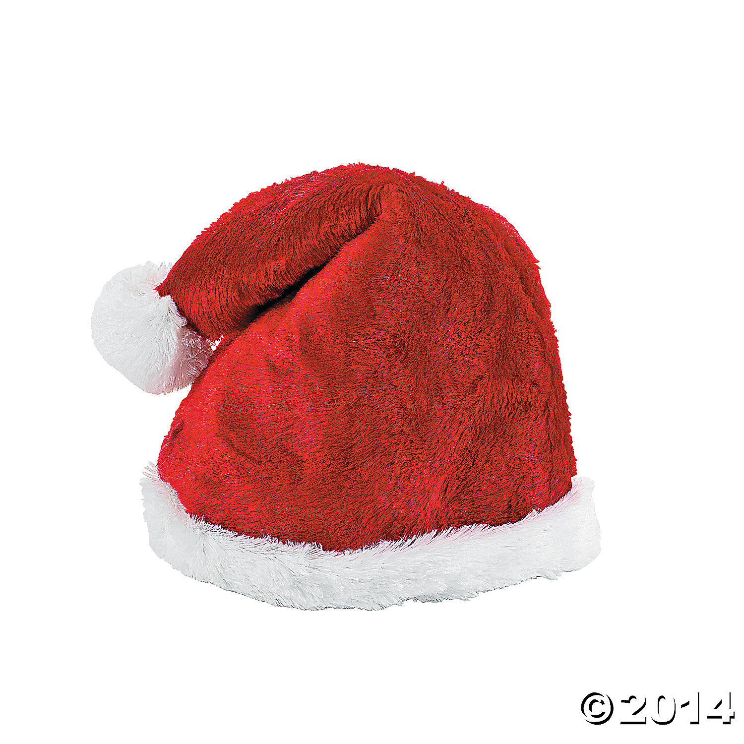 Plush Adults Santa Deluxe Hat
