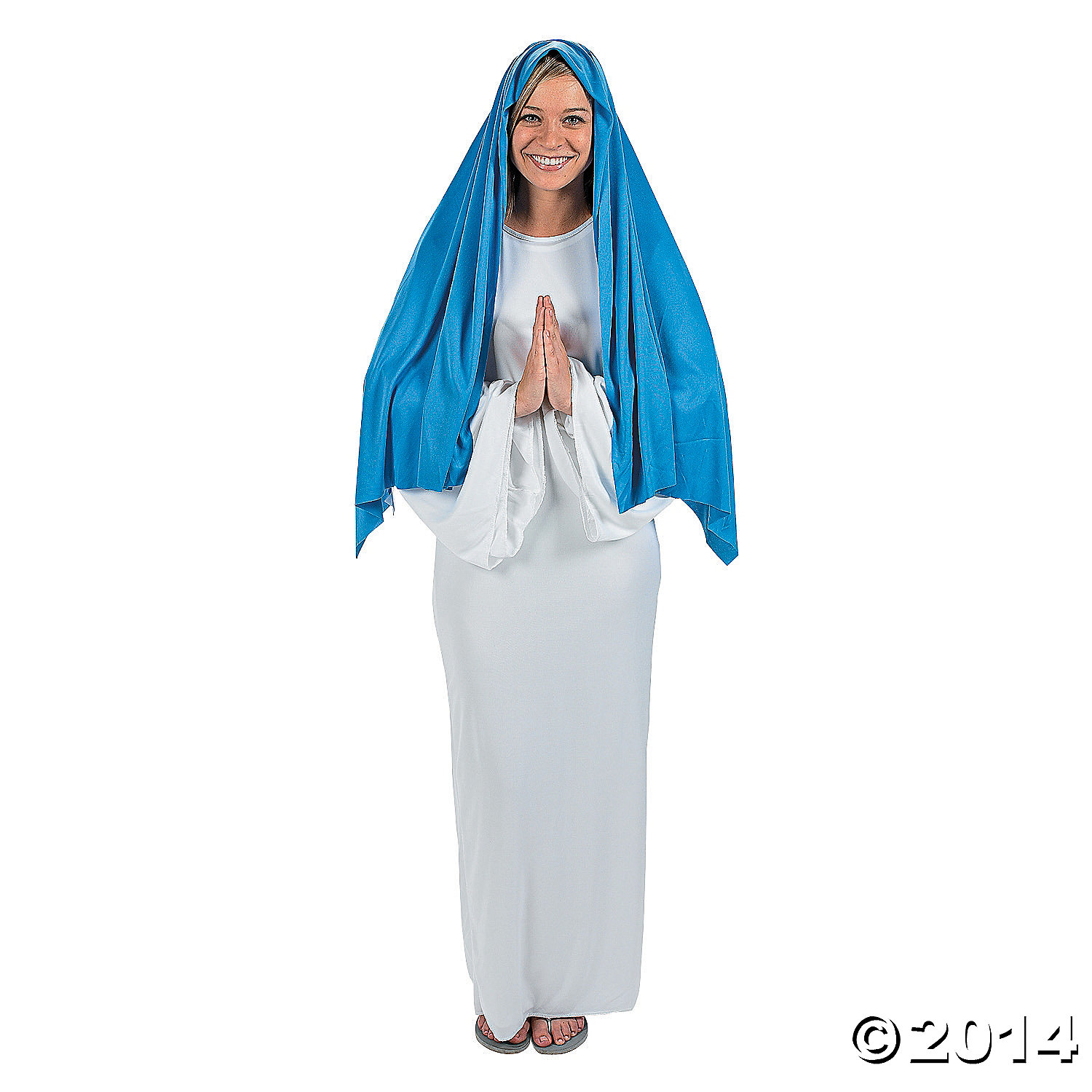 Polyester Mary Adult Costume