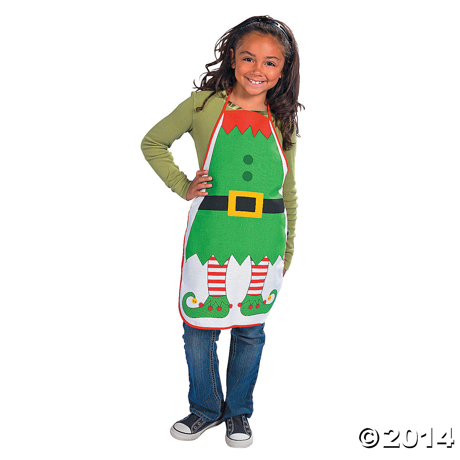 Cotton Elf Child's Apron