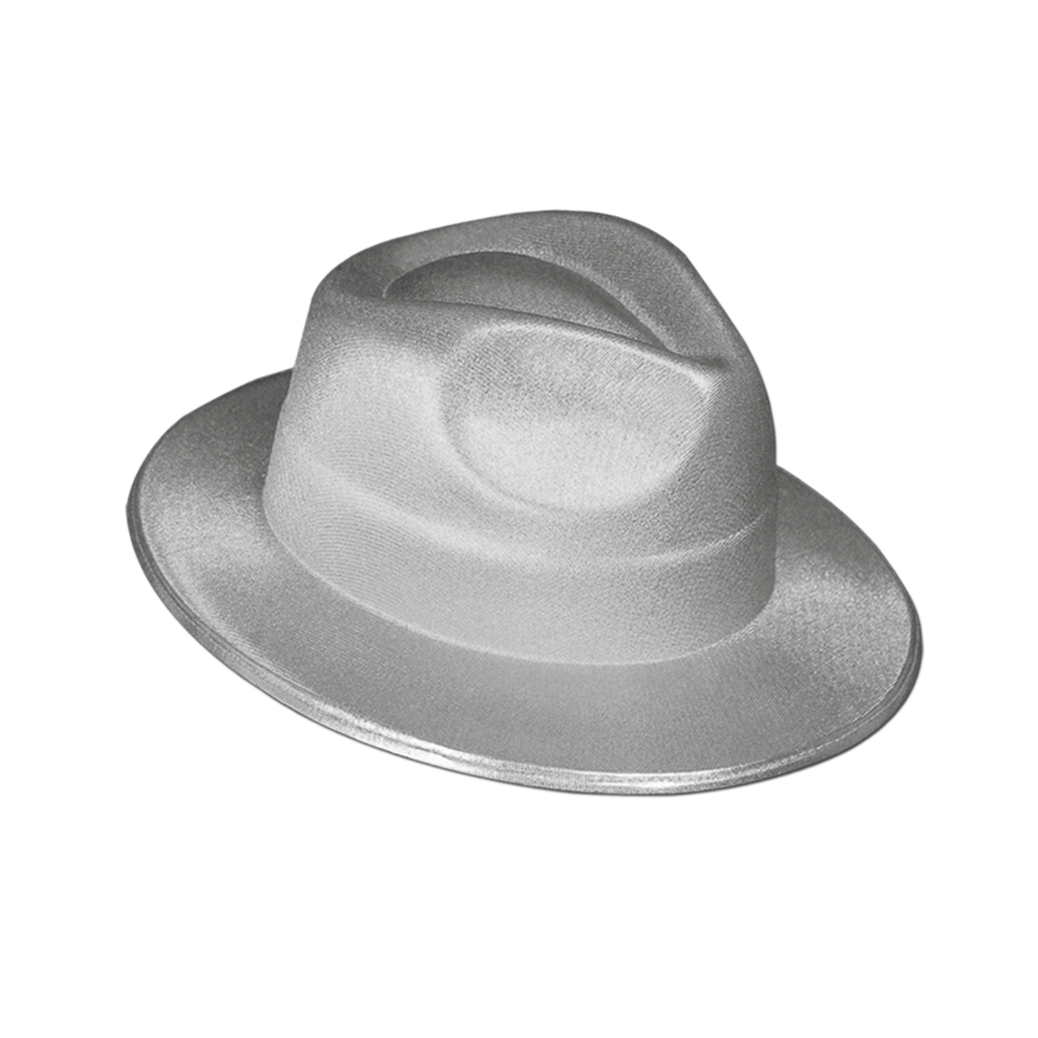 Theatrical Fedora silver
