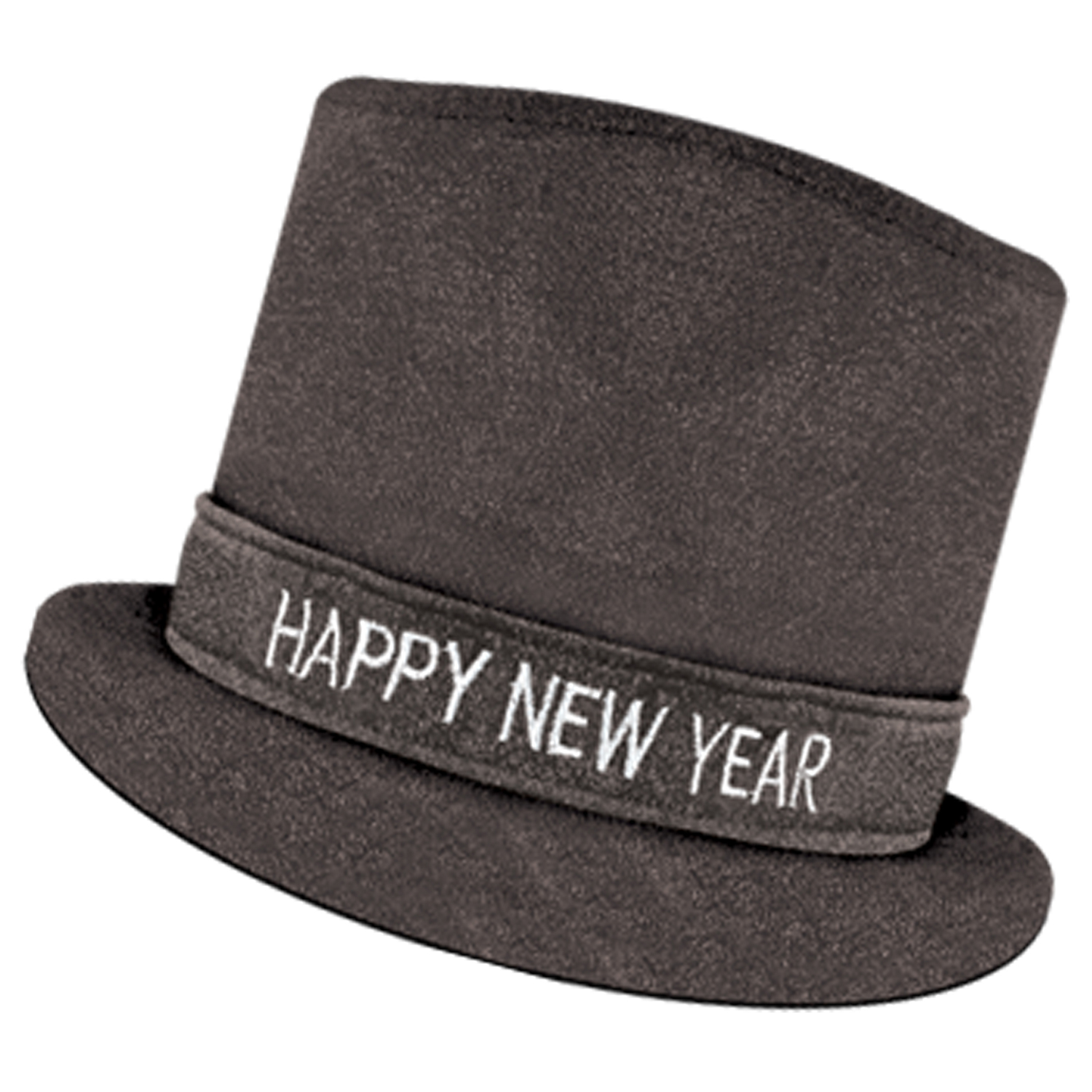 Glitz 'N Sparkle HNY Top Hat black