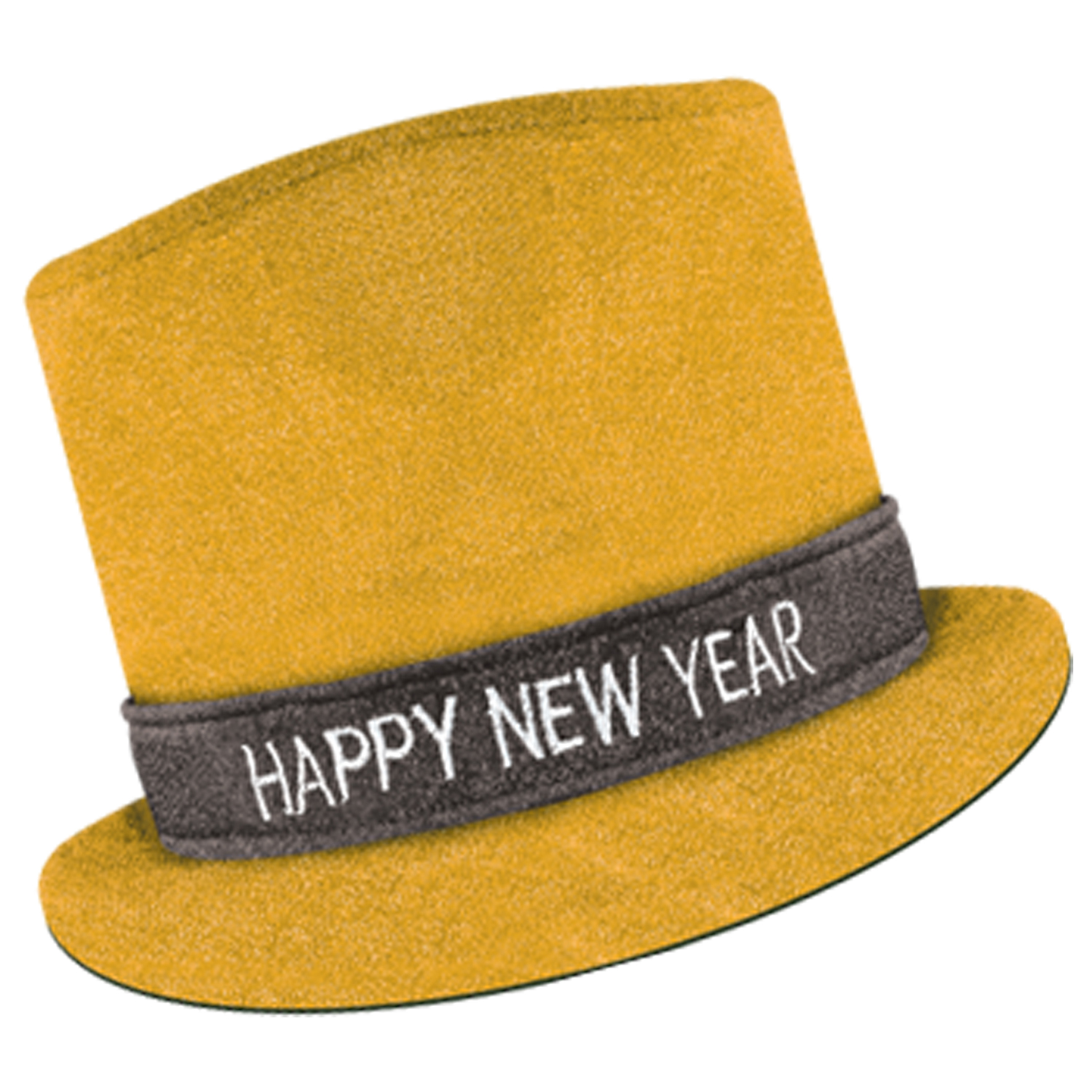 Glitz 'N Sparkle HNY Top Hat gold