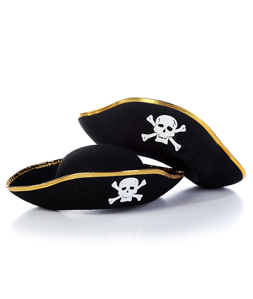 Felt Pirate Party Hat - Child Size