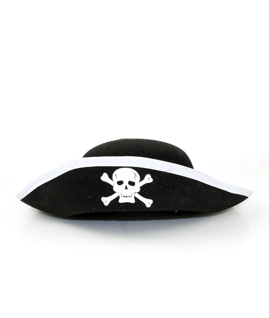 Child Size Felt Pirate Hat