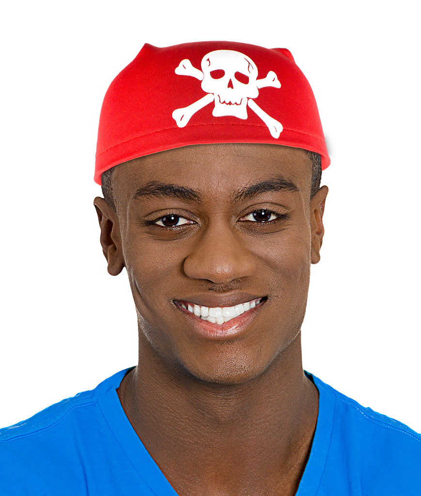 Pirate Scarf Hat - Red