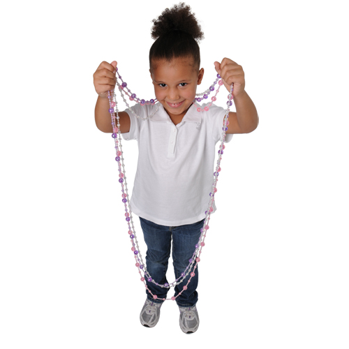 97 Inch Jumbo Mirror Ball Bead Necklace