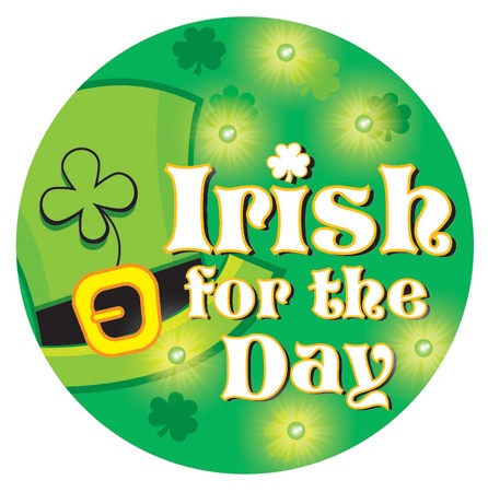 Irish for the Day 2.25 Button