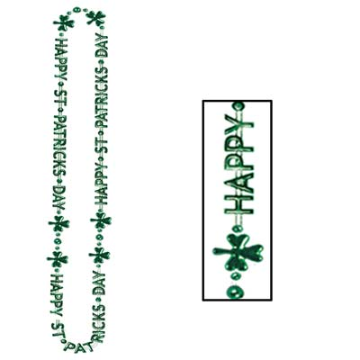 St Patrick's Day Beads-Of-Expression 36in