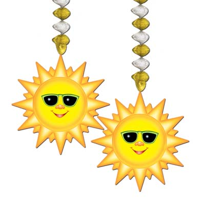 Sunburst Danglers 30in 2ct