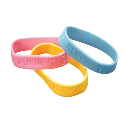 Luau Rubber Band Bracelets