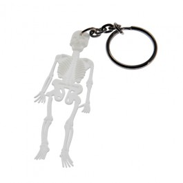 Glow in the Dark Skeleton Key Chain