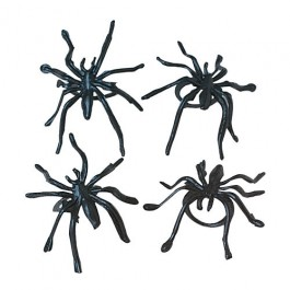 Black Spider Rings-36 Pieces