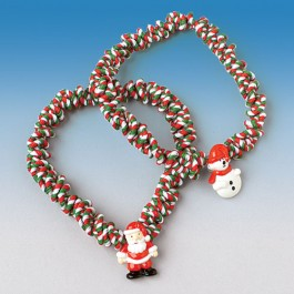 Christmas Character Choker Necklaces