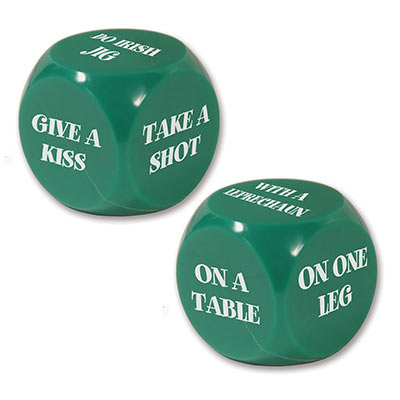 St Patrick Decision Dice Game
