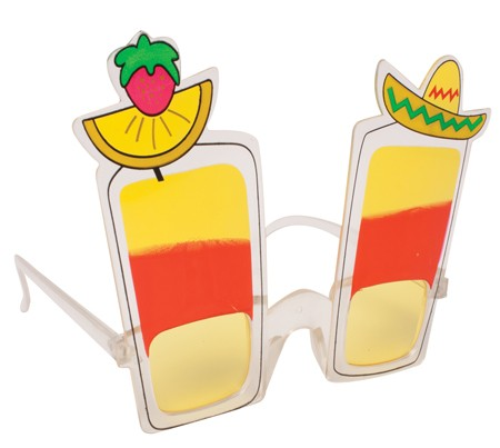 Fiesta Drink Shaped Glasses