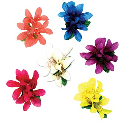 Tiger Lily Hair Clips asstd colors