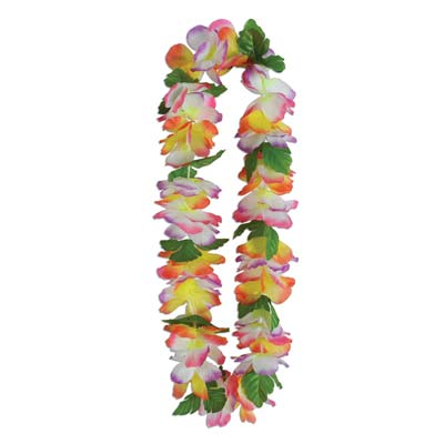 Silk 'N Petals Tropical Garden Lei 38in