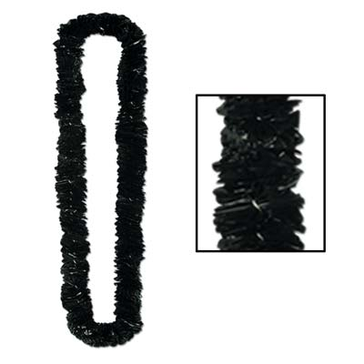 Soft-Twist Poly Leis 1 x 36 Inch - Black