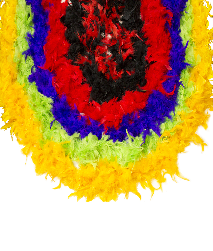 Feather BOA - 6ft Assorted - 360g