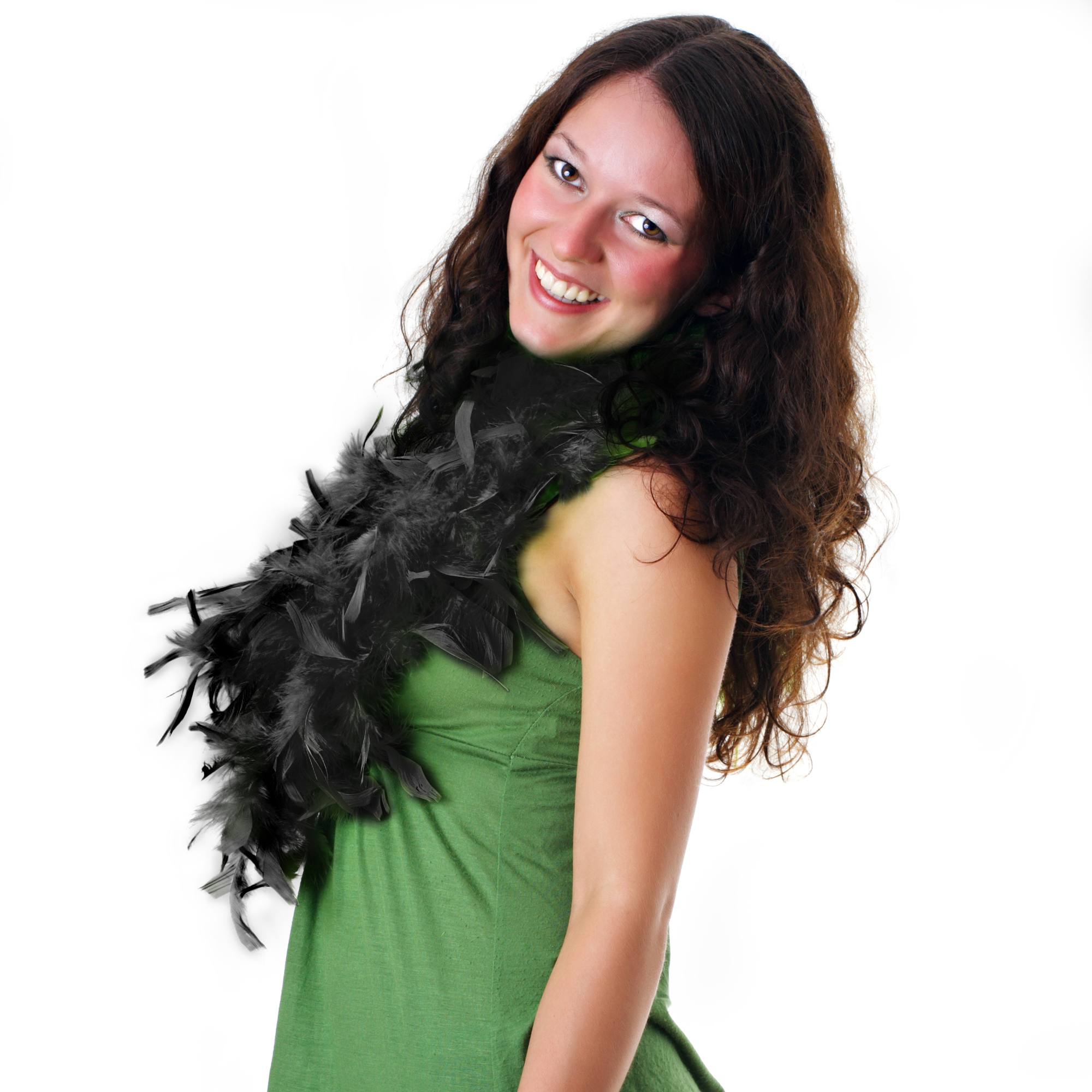 Fun Central AU139 Feather BOA - 6ft Black - 60g