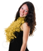 Fun Central AU141 Feather BOA - 6ft Gold - 60g