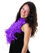 Fun Central AU142 Feather BOA - 6ft Purple - 60g