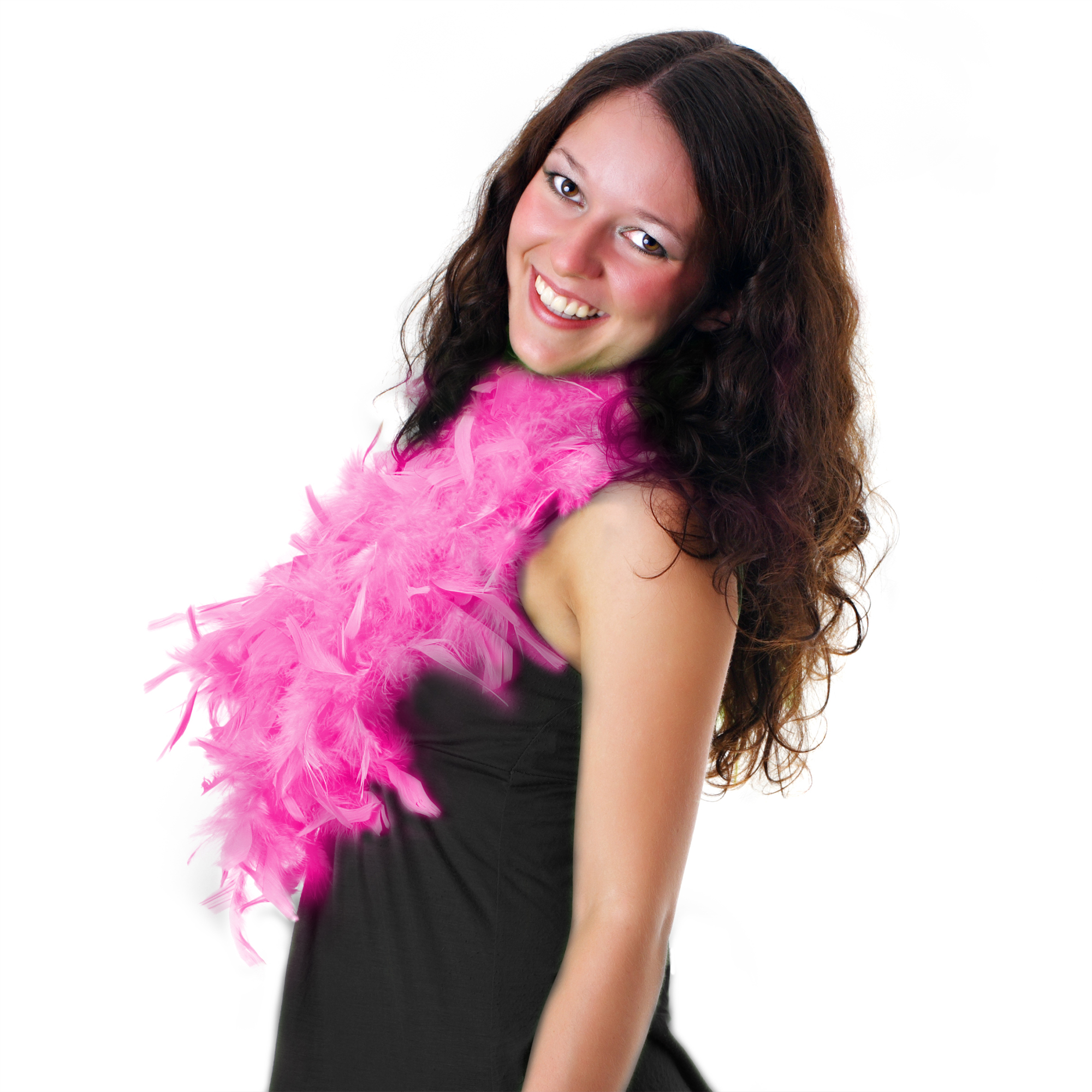 Fun Central AU147 Feather BOA - 6ft Baby Pink - 60g