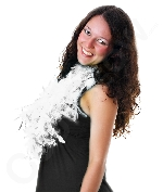 Feather BOA - 6ft White - 60g