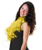 Feather BOA - 6ft Yellow - 60g