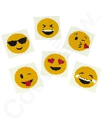 Emoji Temporary Tattoo Assortment -144ct