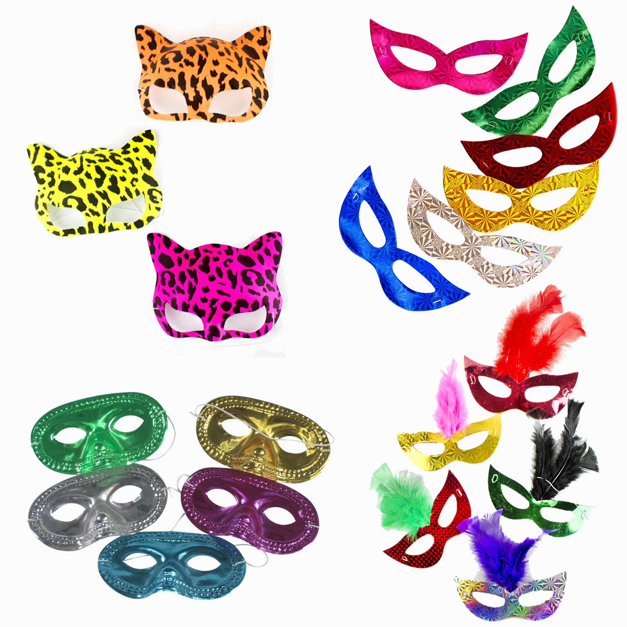 Mask party pack - assorted
