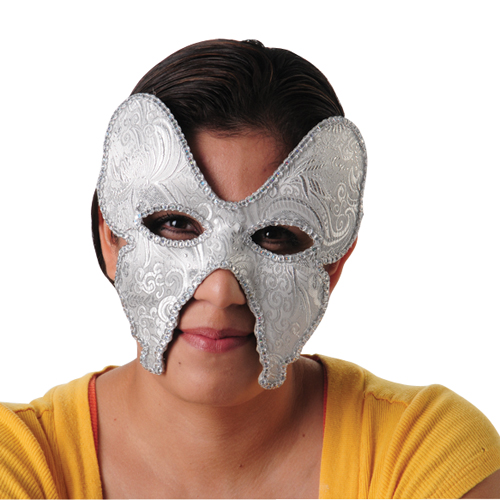 Embroidered Masquerade Venetian Mask