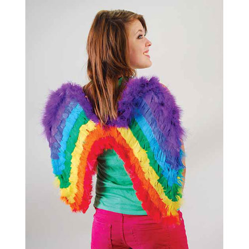 Rainbow Wings Adult Size