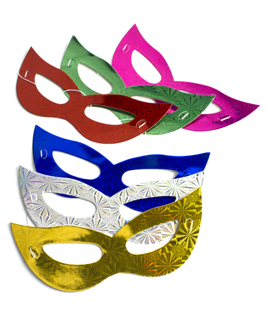 Prismatic Masks Assorted 12ct