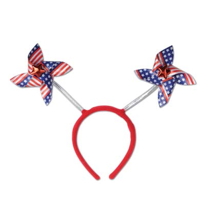 Patriotic Pinwheel Boppers stars & stripes