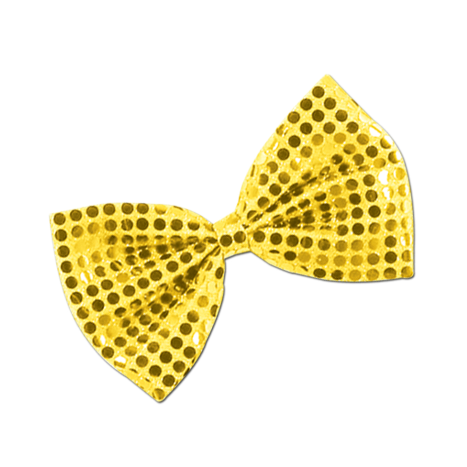 Glitz 'N Gleam Bow Tie 4.25x7in gold