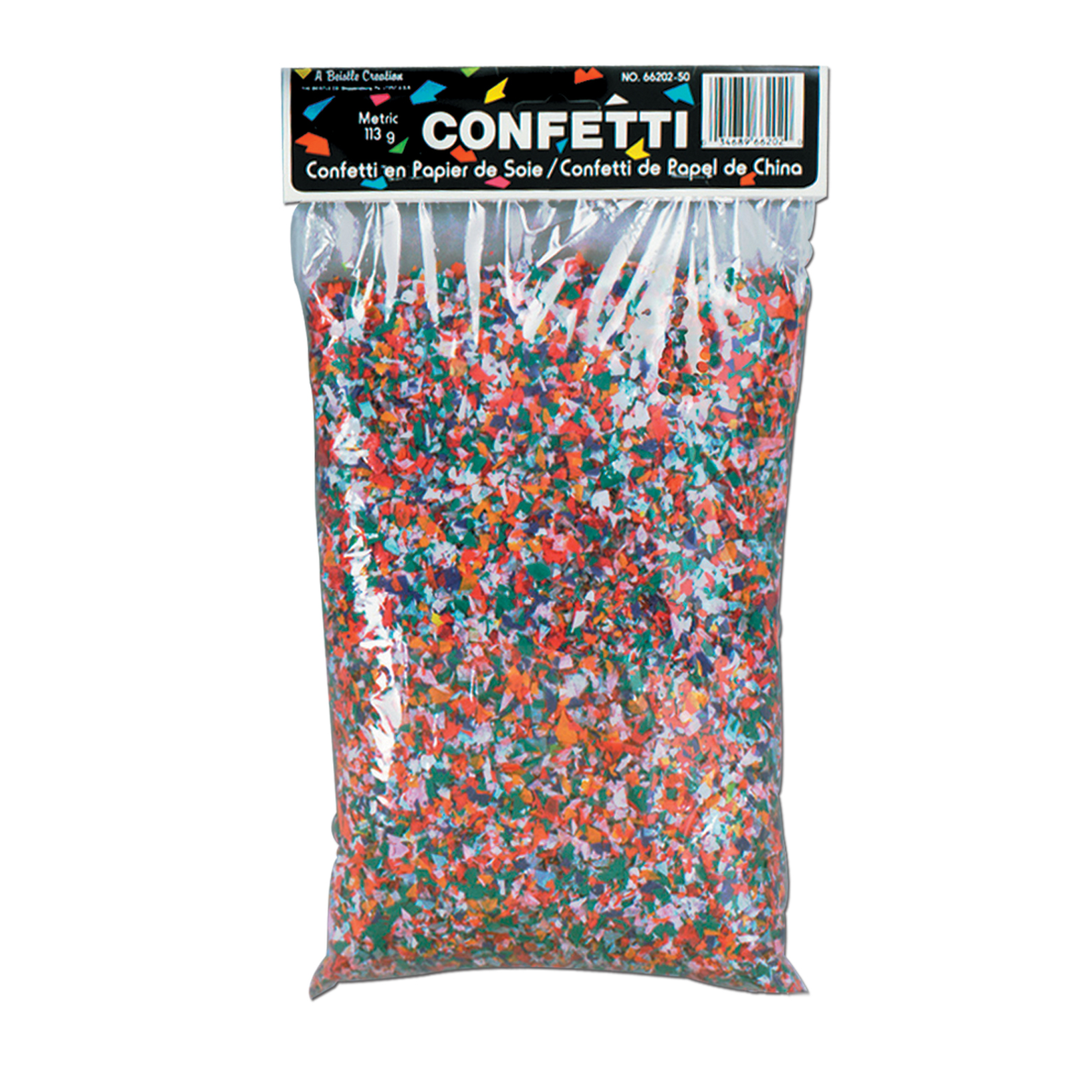 Tissue Confetti multi-color 3.75 Qt
