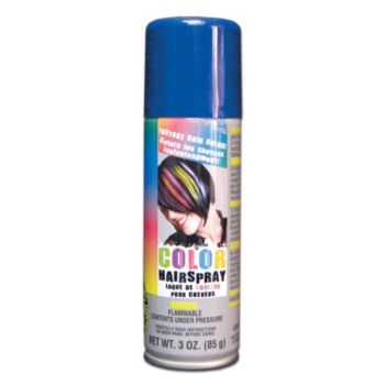 Blue Color Hair Spray- 3oz