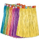 Adult Flowered Grass Skirt