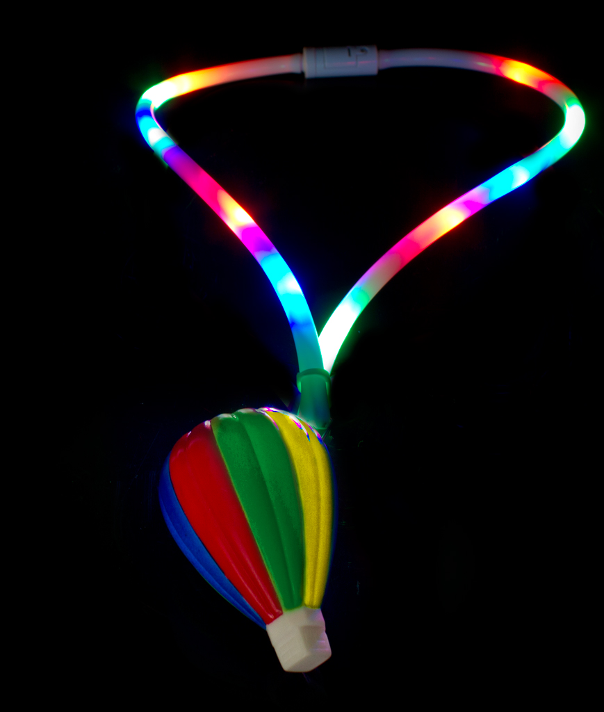 LED Flashing Lanyard - Hot Air Balloon